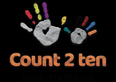Logo Design Count 2 Ten Creative Maths-min