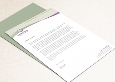 Letterhead Design for Wellpark College