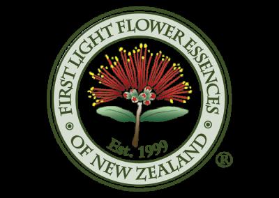 Logo Design First Light Flower Essences